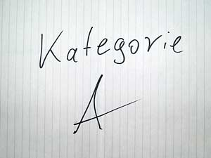Google Places Kategorie - A