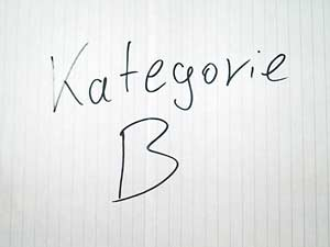 Google Places Kategorie - B